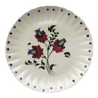 "Blue Ridge 12"" Plate Dream Flower"