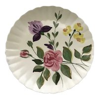 "June Bouquet Blue Ridge 12"" Plate - Blue Ridge"