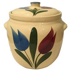 Watt Pottery Tulip Cookie Jar - 503