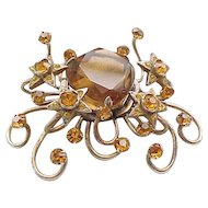 Fabulous Space Age Brooch - Book Piece