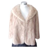 Exceptional Mink Cape - Kaplan Furs, Athens Greece - Size Medium