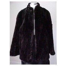 Fabulous Vintage Fur Jacket - Softest Fur Ever- Size Small