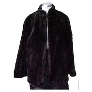 Fabulous Vintage Fur Jacket - Softest Fur Ever- Size Small