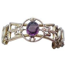 02 - Leading Lady Sweetheart Expansion Bracelet - Rare Center