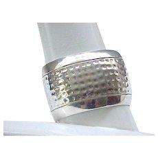 Huge Sterling Silver Cuff Bracelet - 55 Grams