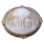 Spectacular Vintage Cameo - Exceptional Carving
