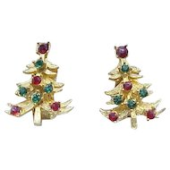 02 - Mylu Christmas Tree Earrings