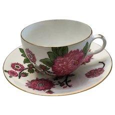 Rare Shelley Cup and Saucer Jacobean