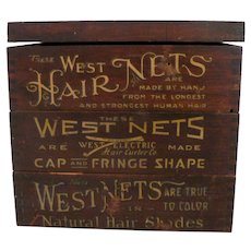 Early 1900s Store Hairnet Display
