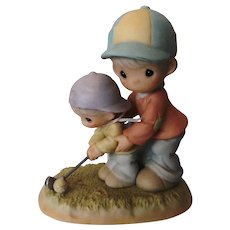 You Always Behind Me. Enesco Precious Moments