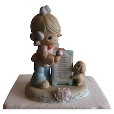 1996 Growing in Grace Age-11 # 260924. Enesco Precious Moments figurines