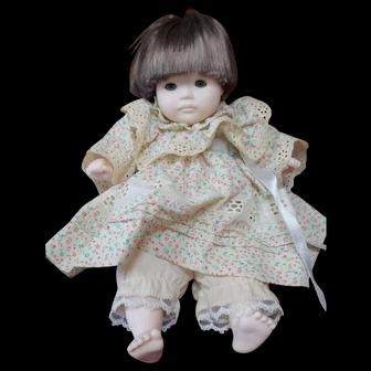 Vintage Pauline Bjonness Jacobsen Doll 11 inches  Marked PBJ No. 91984