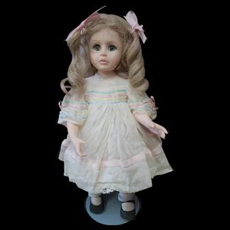 """14"""" Vintage Full Body Porcelain Doll"""