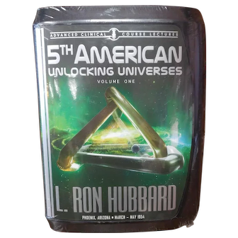 New and Sealed 5th American Unlocking Universes Volume I by L Ron Hubbard  Lecture Series Scientology Audio CD Set