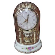 CERAMIC Carousal Dome Clock