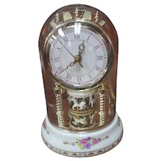 CERAMIC Carousal Dome Clock