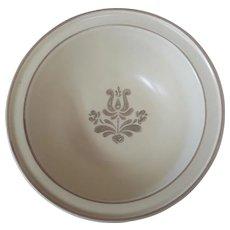 "Pfaltzgraff Village Stoneware 6"" Soup Bowl 6-24 Beige Pottery USA"