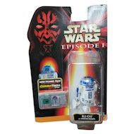 Hasbro 1998 Star Wars Episode 1 Now Figures Talk Collection 2 R2-D2 with Booster Rockets