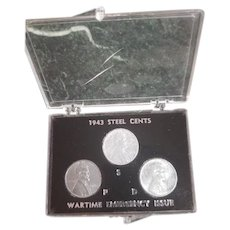 1943 Steel Cents Wartime Emergency Issue (3)