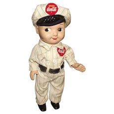 Hard Plastic Coca Cola Buddy Lee Doll