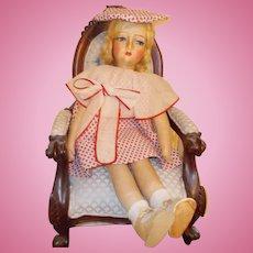 Blossom Boudoir cloth doll