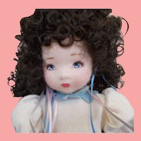 American Beauty Felt Doll Mint in Box