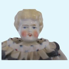 Antique OPEN MOUTH China doll very Rare
