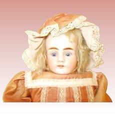 Antique German ABG  Turned Head Doll
