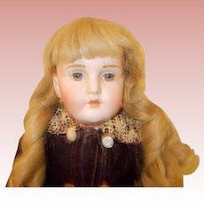 Antique Kestner Mold 195 with Fur Eyebrows