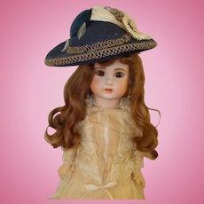 Vintage Large Doll Hat Signed