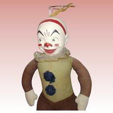 Vintage Composition Clown all Original