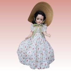"""Vintage Composition Madame Alexander """"Scarlet"""""""