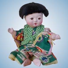 Japanese Traditional Oriental Baby Doll