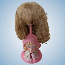 Fabulous Unused Mohair Doll Wig