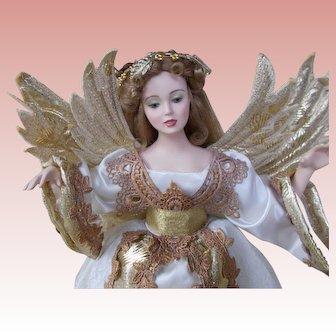 Vintage Seymour Mann Bisque Angel