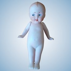 Perfect All Bisque Kewpie Type Character Doll