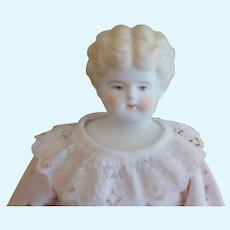 Antique 1890's Blonde China with Brown Eyes