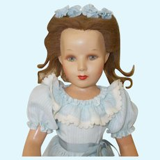 """Rare 20"""" Monica Doll Made by Monica Studio's in Hollywood California"""