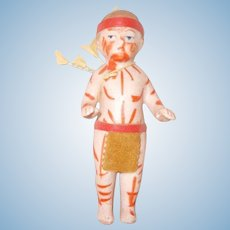Tiny Parian Frozen Charlie Indian