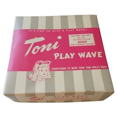 Vintage  Toni Play Wave in Box