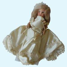 Vintage Unmarked Composition Bride Doll