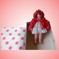 "Vintage Nancy Ann Storybook ""Little Red Riding Hood"" #116"