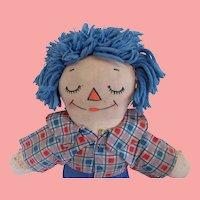 Asleep/Awake Raggedy Andy Doll