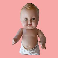 """Excellent  Composition 11"""" Freundlich Baby Sandy with Extra Clothes"""