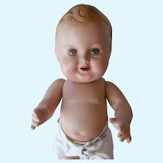 "Excellent  Composition 11"" Freundlich Baby Sandy with Extra Clothes"