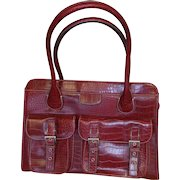 Burgandy Briefcase