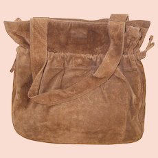 Geniune Suede Leather Handbag