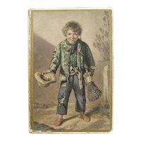 English, 19th Century George Baxter Regal Needle Box Set