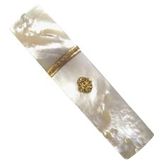 Mother-of-Pearl Palais Royal Needle Case