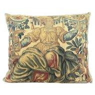 Flemish 17th Century Tapestry Depicting Athena/Minerva a Greek Sun Goddess